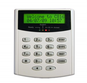 BG-GUARD C816 LCD Keypad