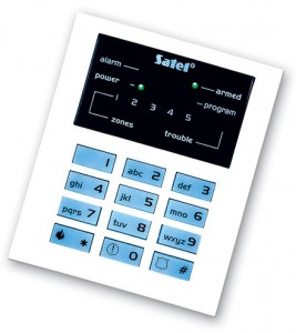SATEL CA-5 LED keypad